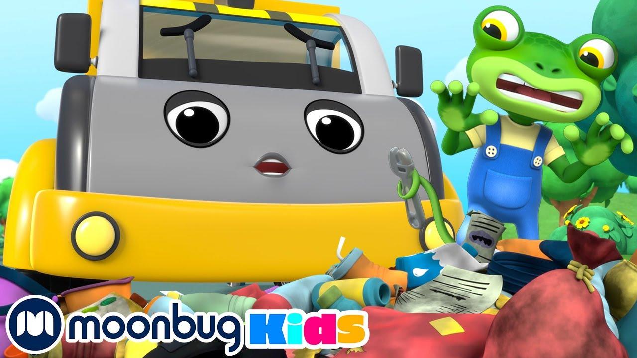 Gecko Saves a Runaway Dump Truck! | NEW Gecko's Garage | Funny Kids Cartoons & Baby Videos