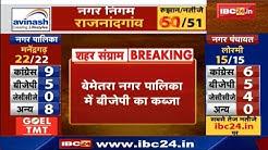 Bemetara Urban Body Election Result LIVE | बेमेतरा Nagar Palika में BJP का कब्जा