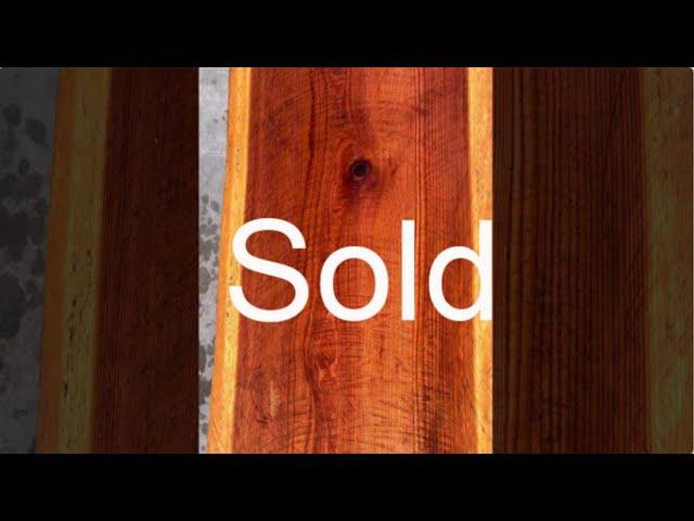 Old Growth Redwood Slab #29