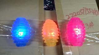 Іграшка гумовий М'яч для регбі з шипами 77-1, Д-9,5 см
