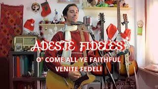 Bob Dylan | Adeste Fideles (O' Come All Ye Faithful / Venite Fedeli) | guitar/harmonica/vocals