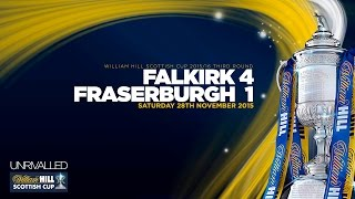 Falkirk 4-1 Fraserburgh | William Hill Scottish Cup 2015/16 - Round 3