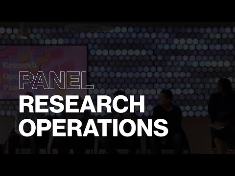 ResOps Panel: Global Research Operations Initiative