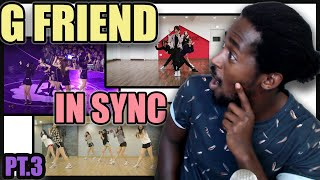 PRO DANCER REACTS GFRIEND IN SYNC | 여자친구 SUMMER RAIN(여름비) | NAVILLERA X2 SPEED | Crossroads & MORE