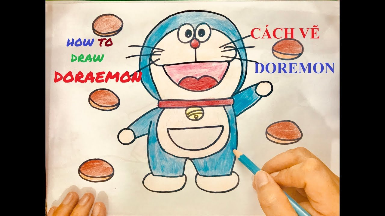 CÁCH VẼ DOREMON – HOW TO DRAW DORAEMON