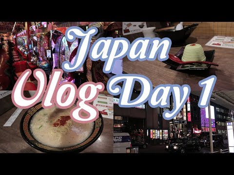 First time in JAPAN OSAKA VLOG Day 1