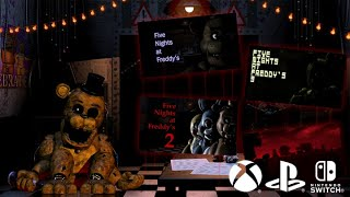 Five Nights At Freddy's 1 4 On Ps4, Xbox One And Nintendo Switch (nov 29th)