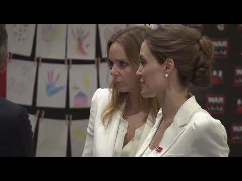 UN Special Envoy Angelina Jolie and Stella McCartney visit the Fringe