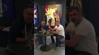 VanLuc + Vincent Dunand à la veille des 1 an de la Cow Working Gallery, Bruxelles