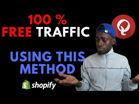 How To Get FREE TRAFFIC to Your Shopify Store With Qoura thumbnail