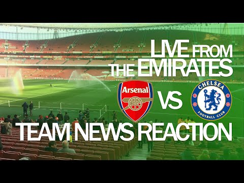 Arsenal Vs Chelsea LIVE PREVIEW From The Emirates Stadium Super Sunday In The Premier League.