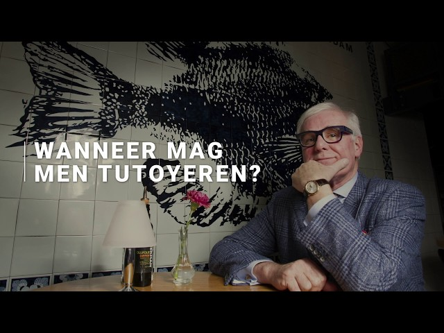 Wanneer mag men tutoyeren? - Willem Reimers