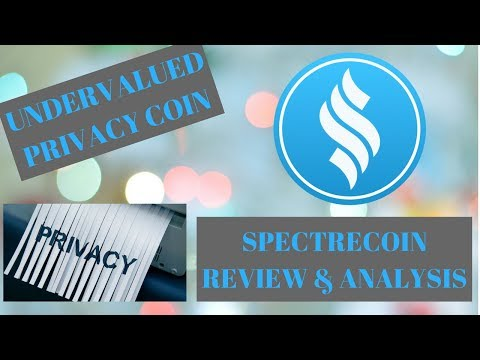 Spectrecoin Project Review - Undervalued Privacy Coin - Huge Potential for 2018 - TOR + OBFS4