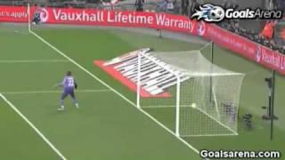 England 1-0 Ghana - Andy Carrol Goal - 29-3-2011.flv
