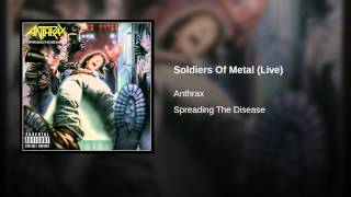 Soldiers Of Metal (Live)