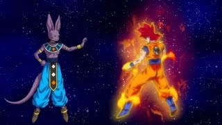 vuclip Dragonball Z Battle of Gods Goku Super Saiyan God vs Beerus