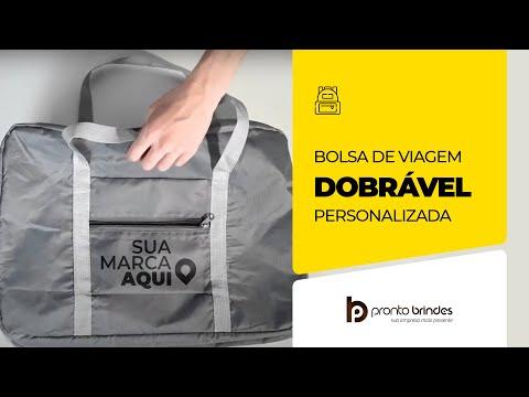 PRONTO BRINDES - BOLSA DE VIAGEM DOBRÁVEL - 2093-001