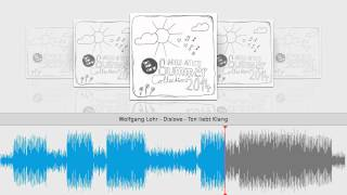 Wolfgang Lohr - Dislove - Ton liebt Klang