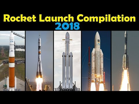 Rocket Launch Compilation 2018 | Go To Space