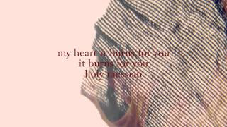 My Heart Burns  - Trent (Vineyard Worship) Official Lyric Video