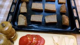 Бутерброды горячие на скорую руку