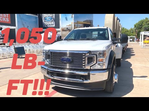 2020 Ford Super Duty Gas and Diesel Specs