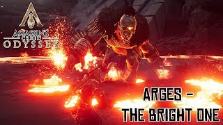 Assassin's Creed Odyssey - Cyclops Arges Battle (The Bright One) @ 1440p ᴴᴰ ✔