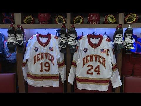 Take a tour of the new Denver Pioneers Hockey locker room