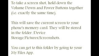 Android KitKat Tips and Tricks - How To Take A Screenshot