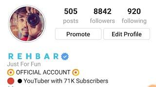 How to verifyed on Instagram 2018 | blue tick on Instagram | Instagram verified trick