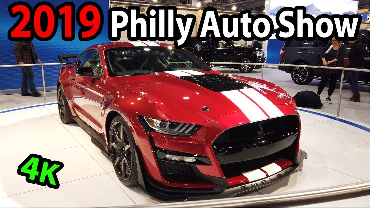 Philly Auto Show 2020.2019 Philly Auto Show Including 2020 Shelby Gt500 And