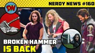 Thor 4 Broken Hammer, Black Adam, Spider-man No Way Home, Titans, Kang, Loki   Nerdy News #160 Thumb
