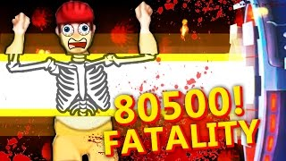 80500! MAXIMUM DAMAGE + EPIC FATALITIES! (Happy Room Gameplay)