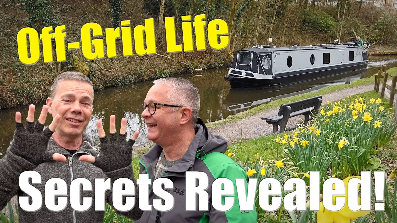 Ten Secrets for Living Off-Grid on a Narrowboat.