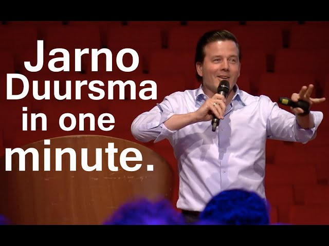 Jarno Duursma in one minute