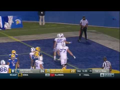 SJSU Football vs. Air Force Highlights