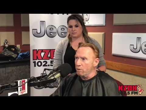 Danny Bonaduce Shaves His Head In Honor Of Sister