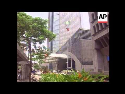 Hong Kong/Philippines - Stock market falls