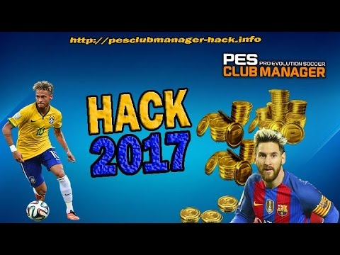 PES Club Manager Hack 2017 - Free PES Coin