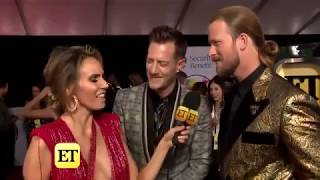 AMAs 2018  Florida Georgia Line Gushes Over Carrie Underwood's Pregnancy