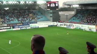 CSKAモスクワ アレナ・ヒムキの雰囲気.wmv