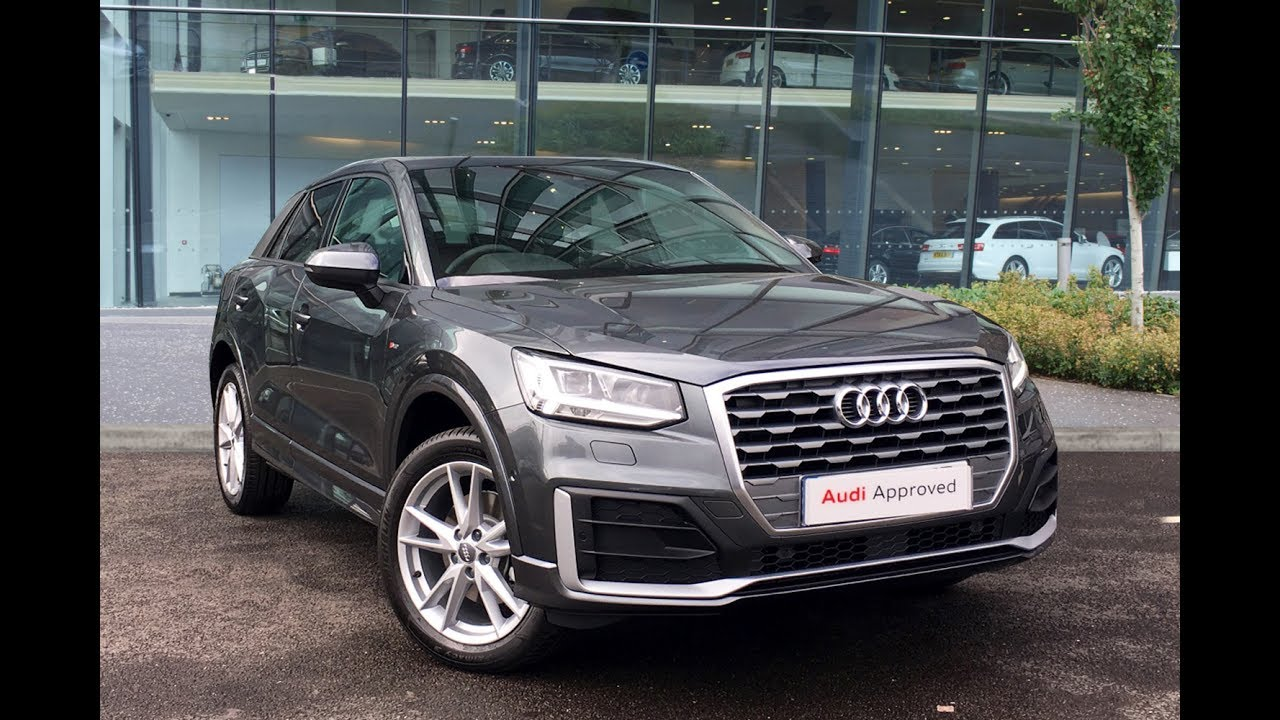 Audi Nano Grey >> LA17FJP AUDI Q2 TFSI S LINE GREY 2017, West London Audi - YouTube