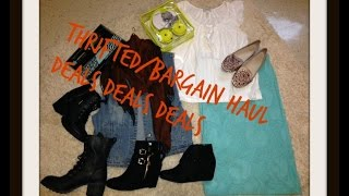 Thrift/Bargain Haul: Deals... Deals.... Deals....Shop Thumbnail