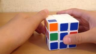 Как собрать Кубика-Рубика (2 слой)