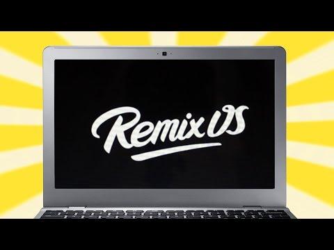 Remix OS on Chromebook