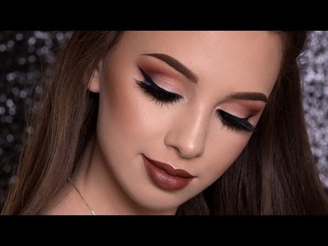 Warm Brown Makeup Tutorial | FALL MAKEUP LOOK