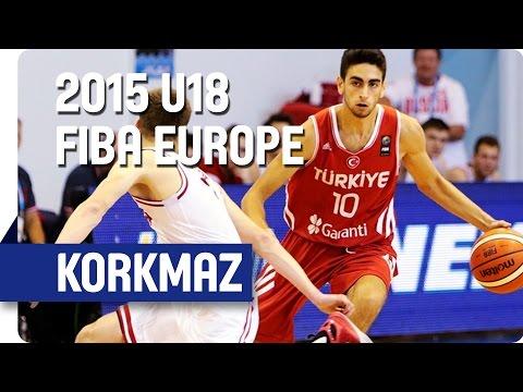 Furkan Korkmaz - Shooting Stars - 2015 U18 European Championship Men
