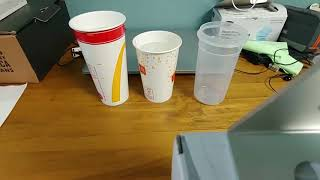맥도날드에서 라지 사이즈 음료 시키지 마세요!