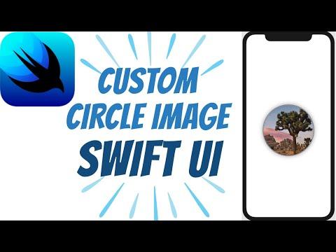 Custom Circle Image with Swift UI - Swift UI Tutorials - #4 thumbnail