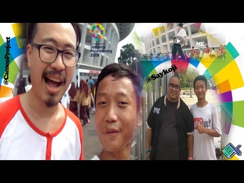 18th Asian Games (Jakarta - Palembang) Indonesia 2018   With Cameo Project   #VLOGI